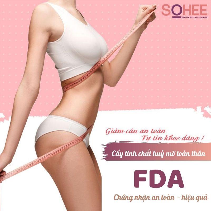 Cấy tinh chất huỷ mỡ toàn thân
