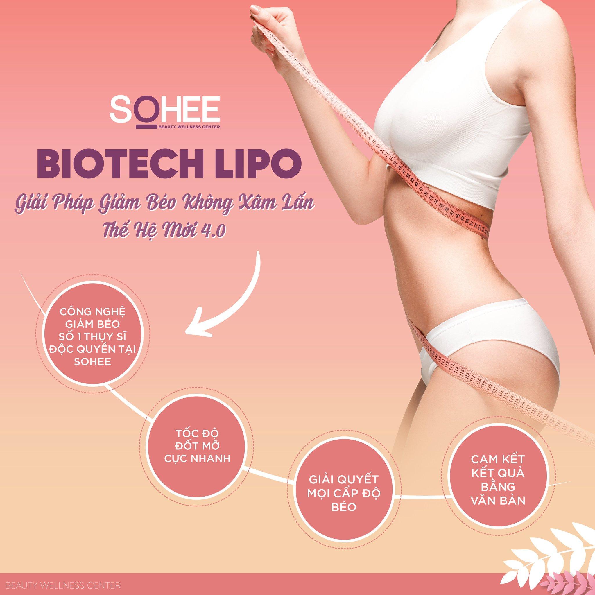 công nghệ giảm béo Biotech