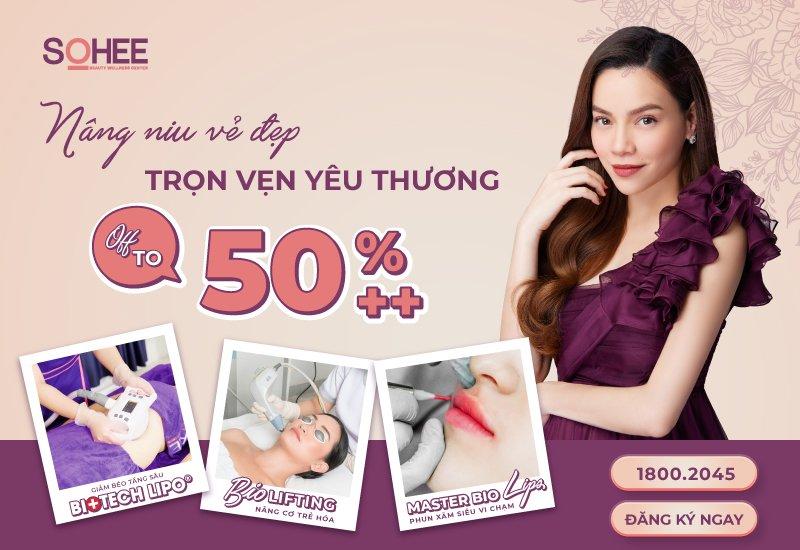 Viện thẩm mỹ SOHEE: Nâng niu vẻ đẹp – Trọn vẹn yêu thương dành tặng phụ nữ Việt