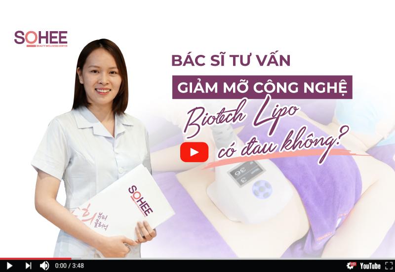 [Bác Sĩ Tư Vấn] Giảm Mỡ Công Nghệ Cao Biotech Lipo Có Đau Không?