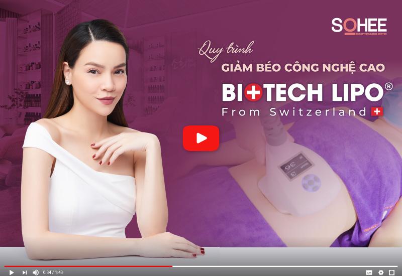 Quy trình giảm béo công nghệ sinh học Biotech Lipo 2021