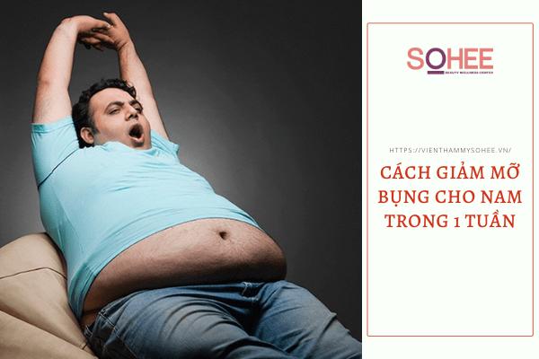 Đánh giá những cách giảm mỡ bụng cho nam trong 1 tuần đang nổi rần rần trên MXH