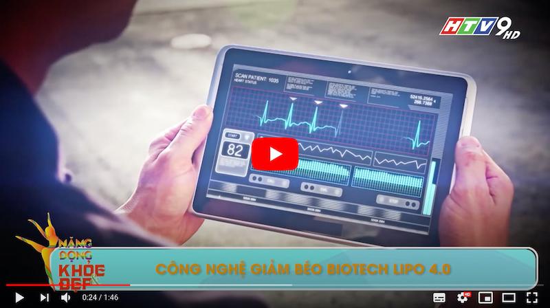 """Công nghệ giảm béo sinh học Biotech Lipo được """"xướng tên"""" trên sóng HTV9"""